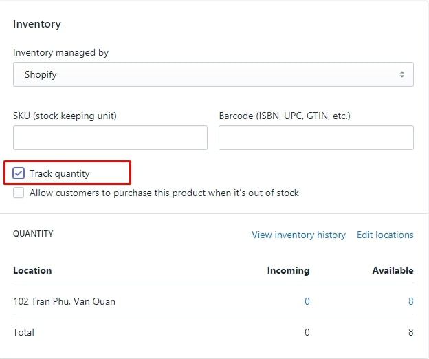 how hide out-of-stock products from your collections shopify