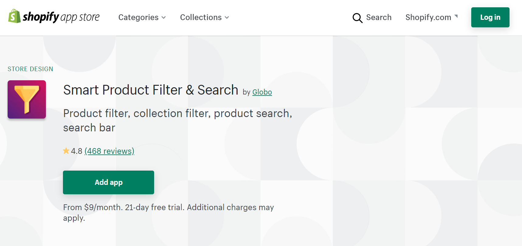 Smart Product Filter & Search