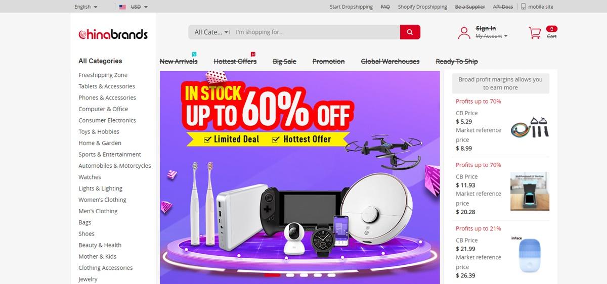 Chinabrands China Wholesale Websites