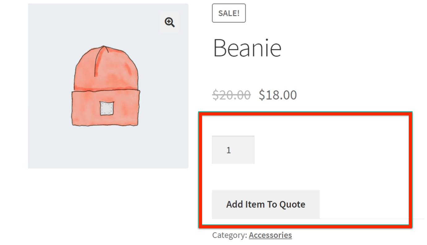 When the Cart button is removed