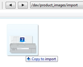 Uploading through WEBDAV