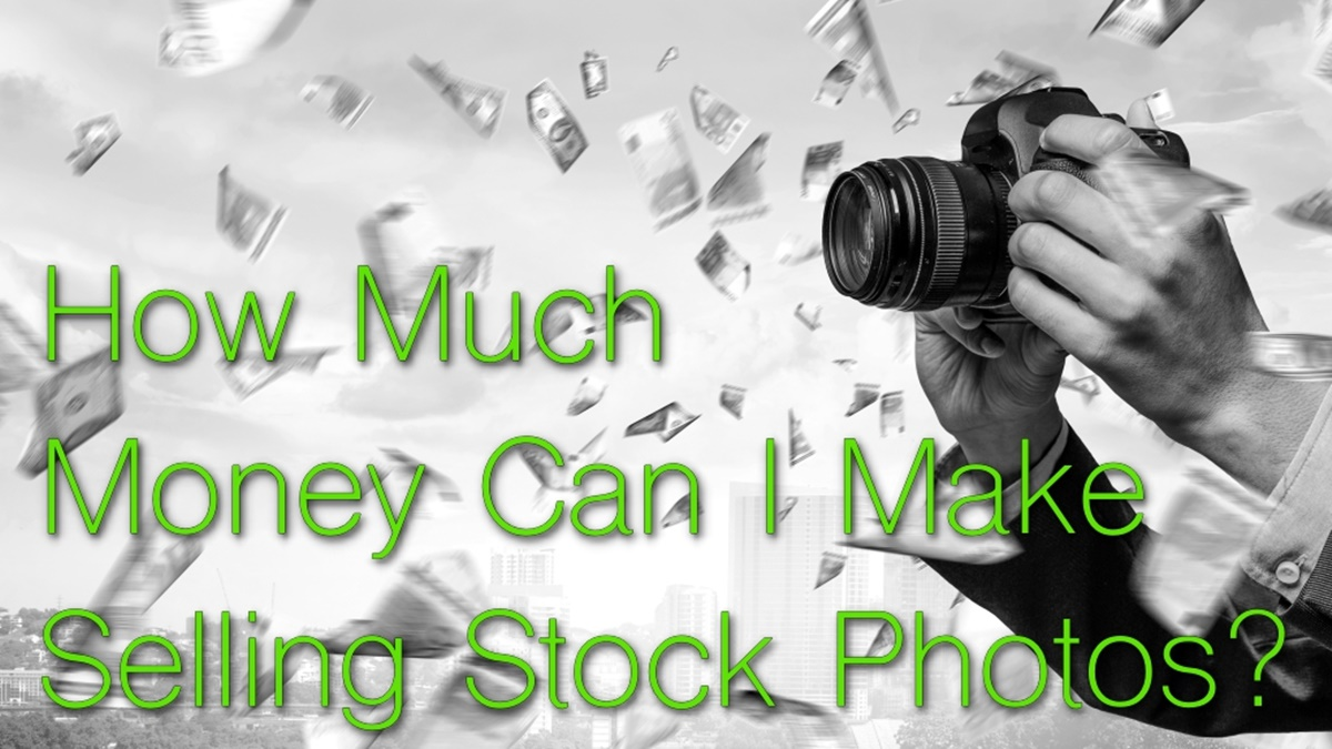 How much can you make selling stock photos?