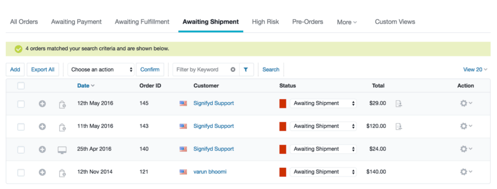 How to configure BigCommerce auto-fulfillment in the Signifyd app