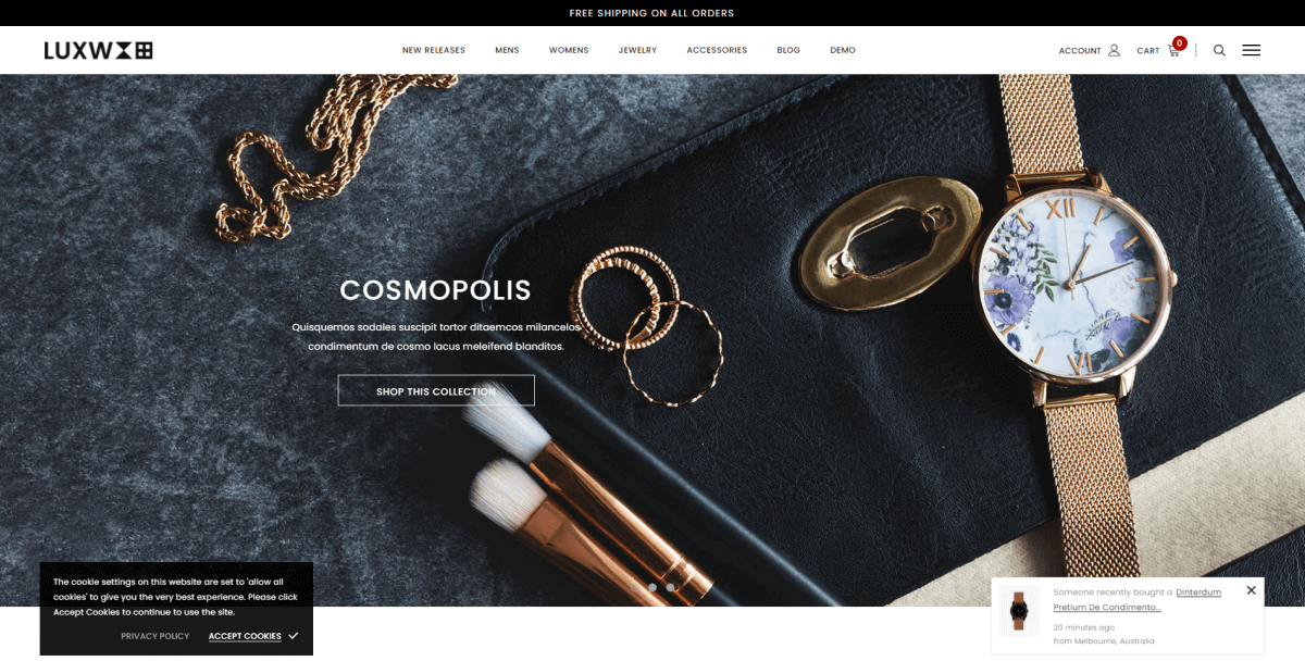 Shopify Watch Themes