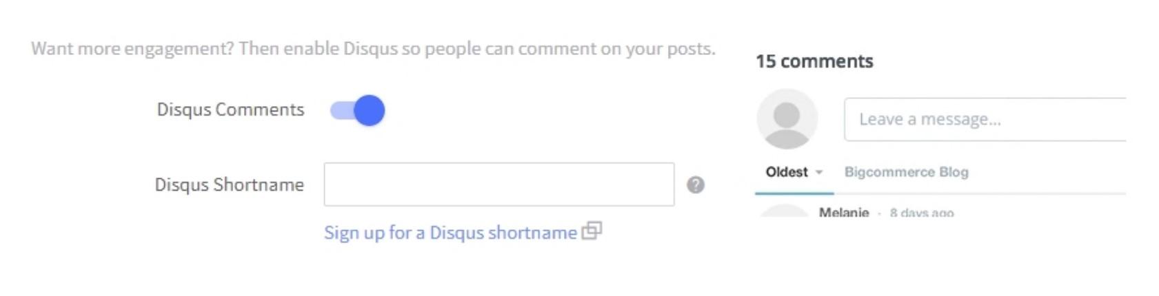 Enter Disqus Shortname