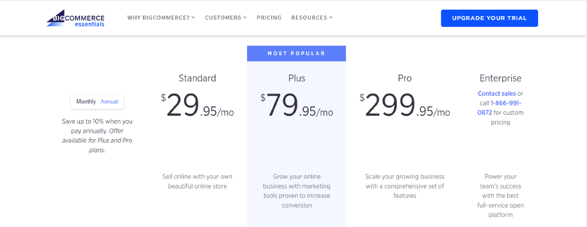 Paid subscription available for BigCommerce users