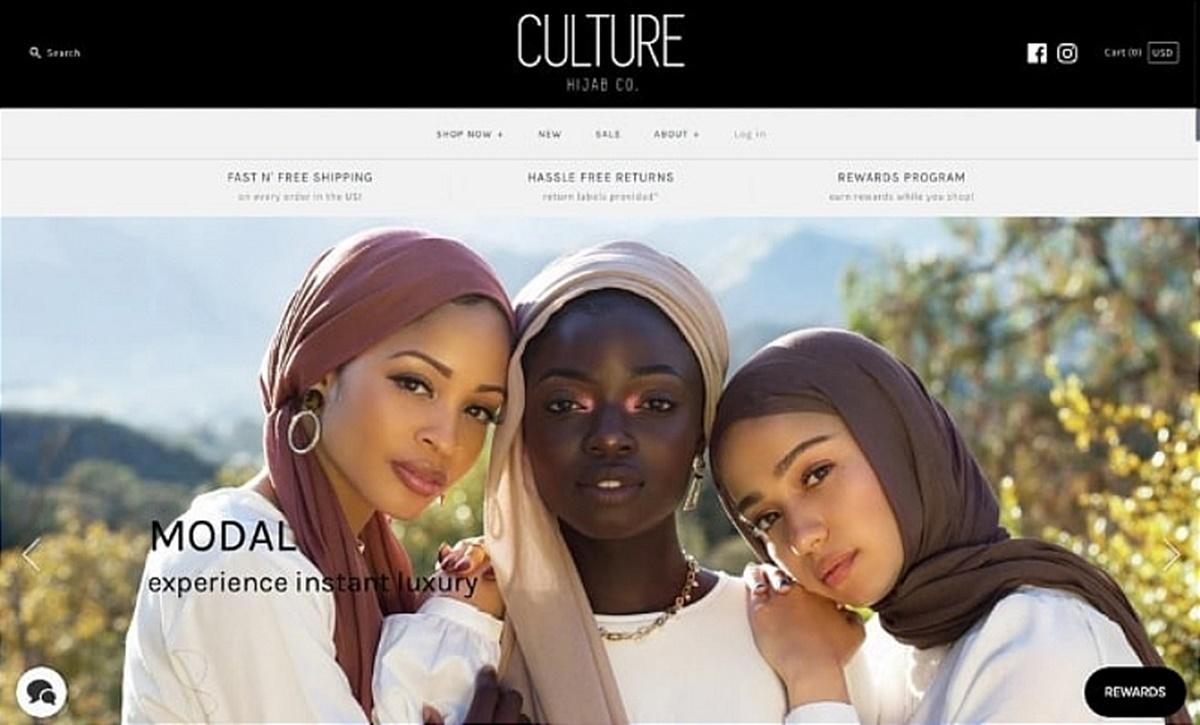 Culture Hijab's homepage
