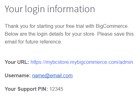 BigCommerce live chat support