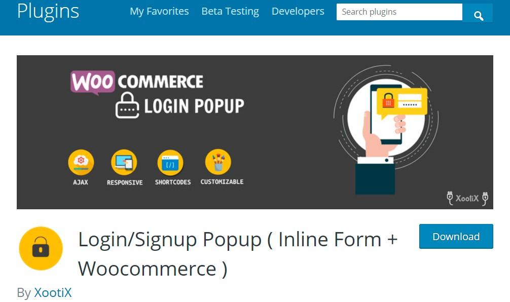 Login/Signup Popup