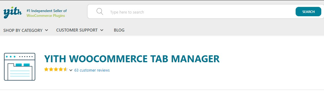 YITH WooCommerce Tab Manager