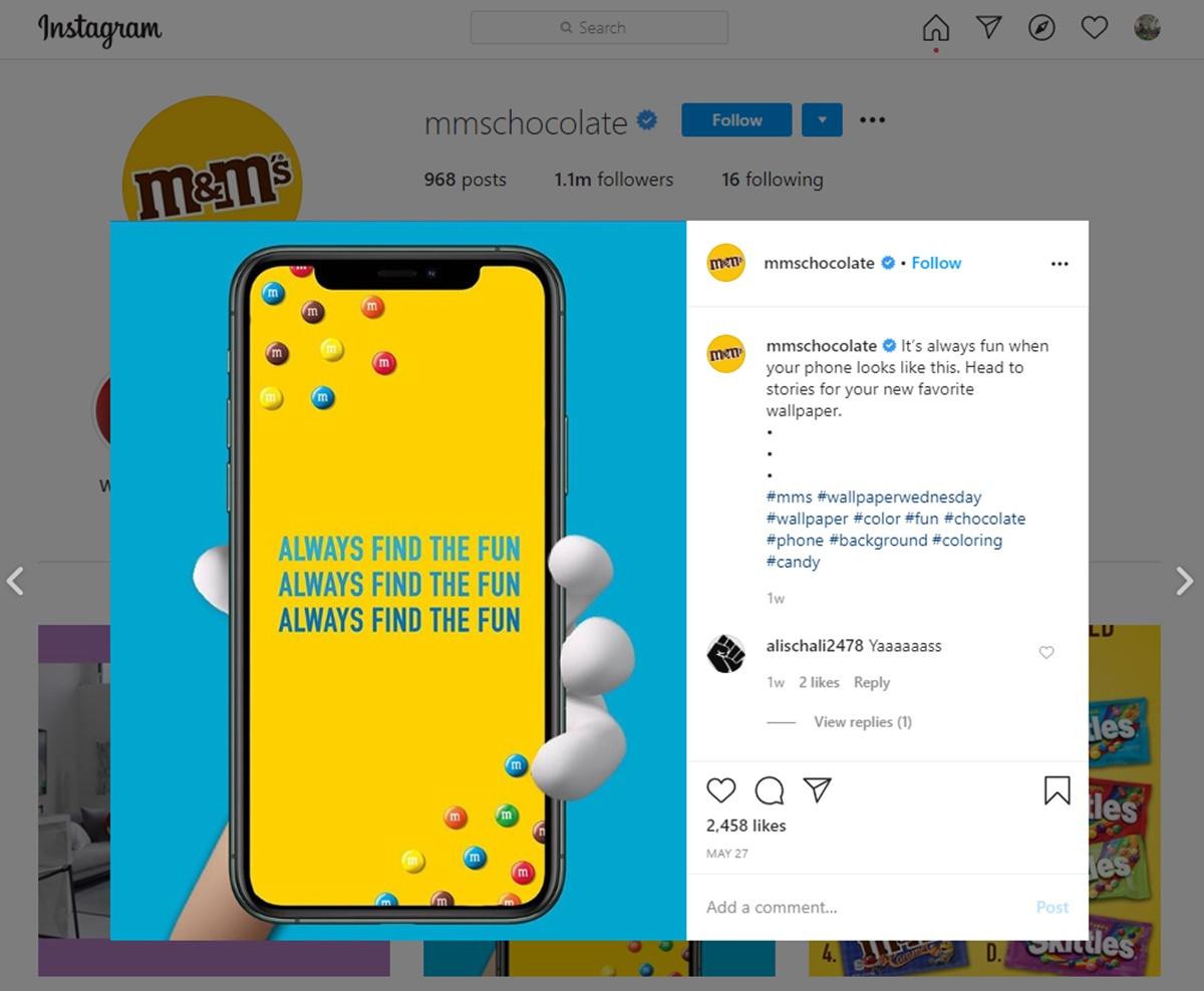 Create unique experience on social media