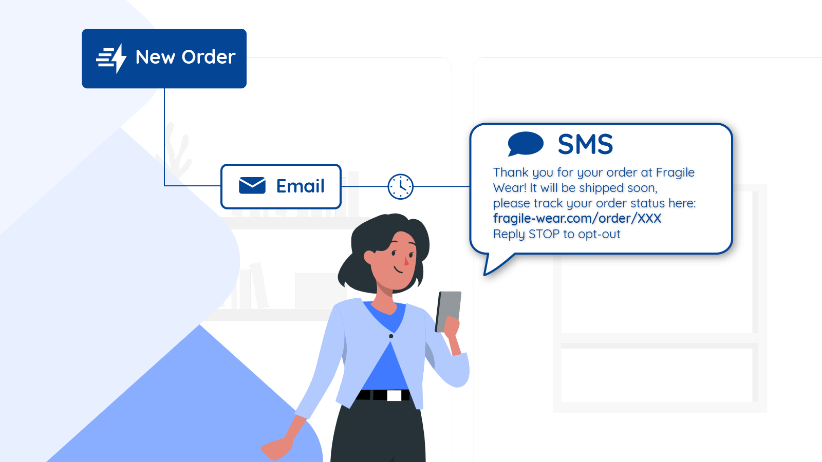 Follow up effectively with SMS Automation