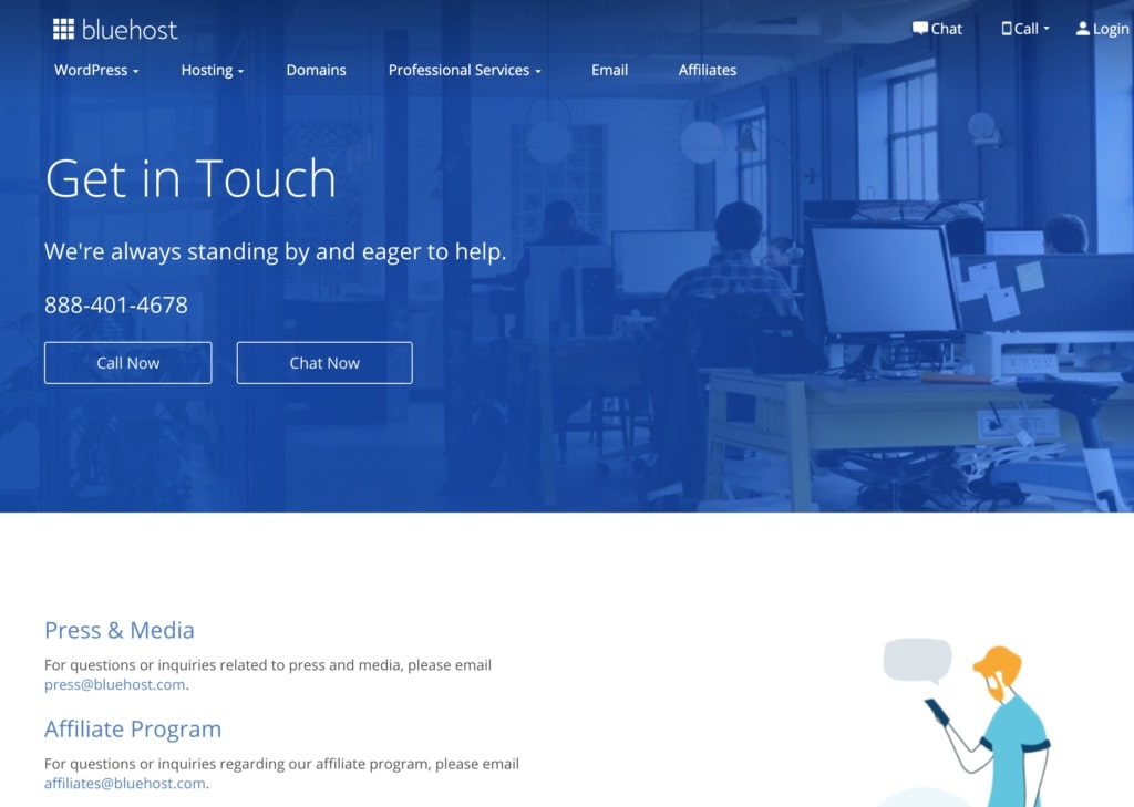 WooCommerce support by Bluehost