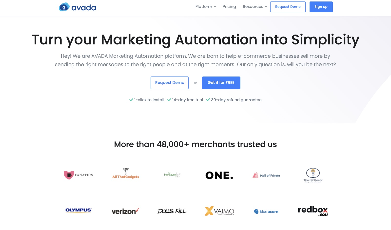 Use AVADA Email Marketing Automation For B2B Lead Generation