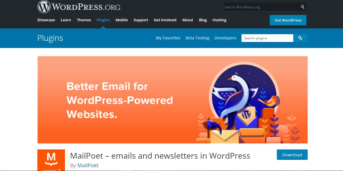 example of MailPoet