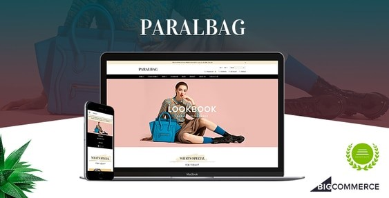 Paralbag BigCommerce Theme preview Source: Papathemes