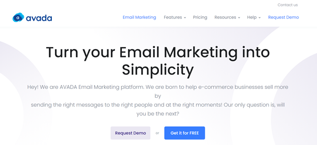 Turn your Email Marketing into Simplicity with AVADA Email Marketing