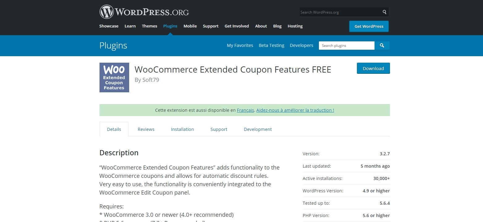 WooCommerce Extended Coupon Features