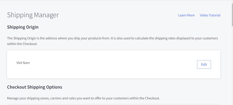 BigCommerce Shipping Manager