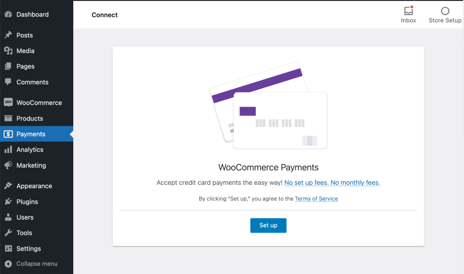 Enable WooCommerce payment method