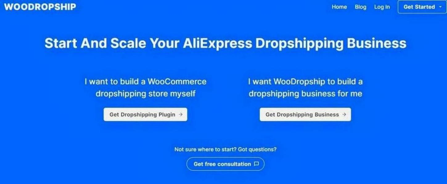 example of WooDropship