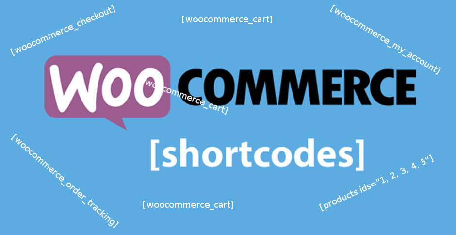 What are WooCommerce Products Shortcodes?