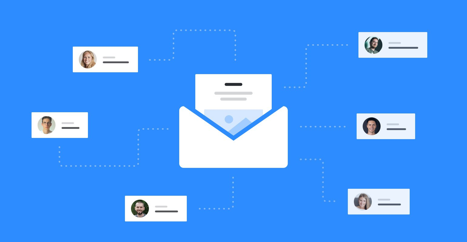 You own your media and email lists