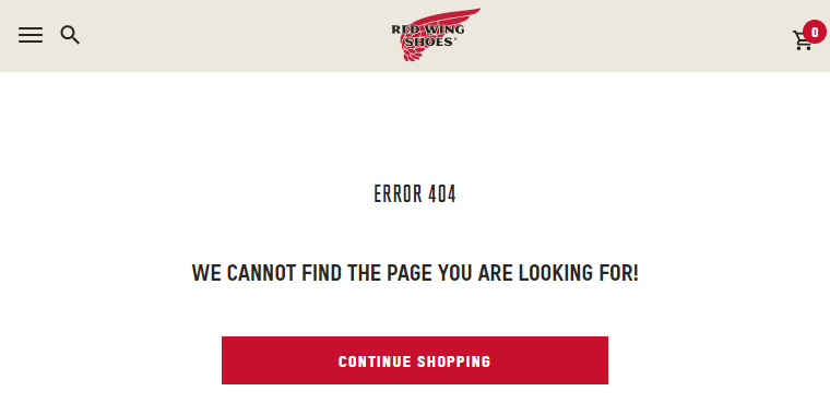 How to customize the 404 error page on BigCommerce
