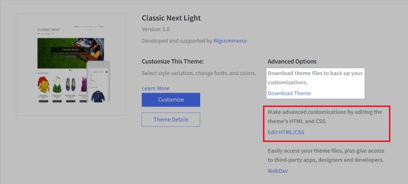 Editing HTML/CSS file