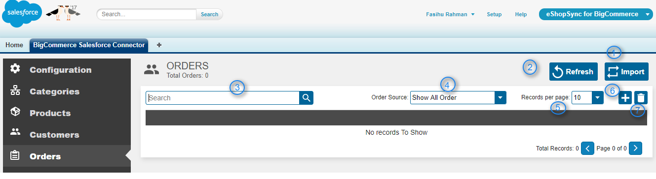Sync your BigCommerce orders to Salesforce orders