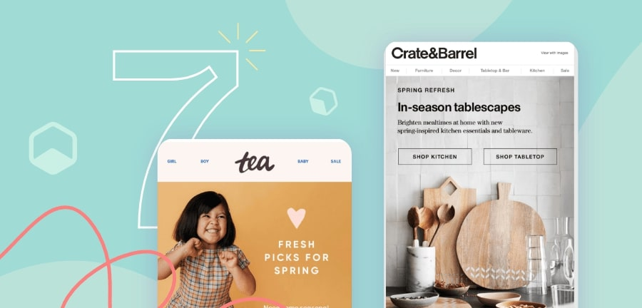 What elements to include in your email banner design