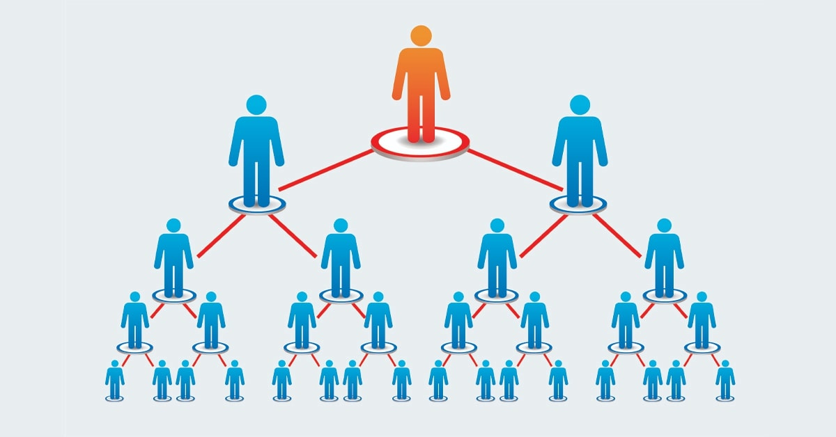 How does network marketing work?