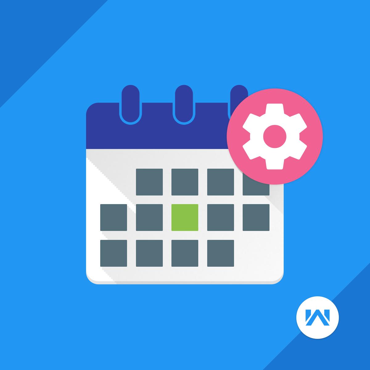 Shopify Calendar app by Webkul software pvt ltd