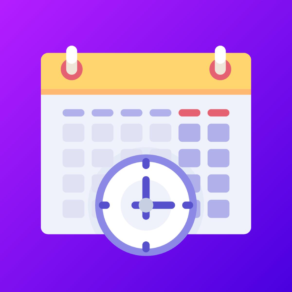 Shopify Calendar app by Tipo