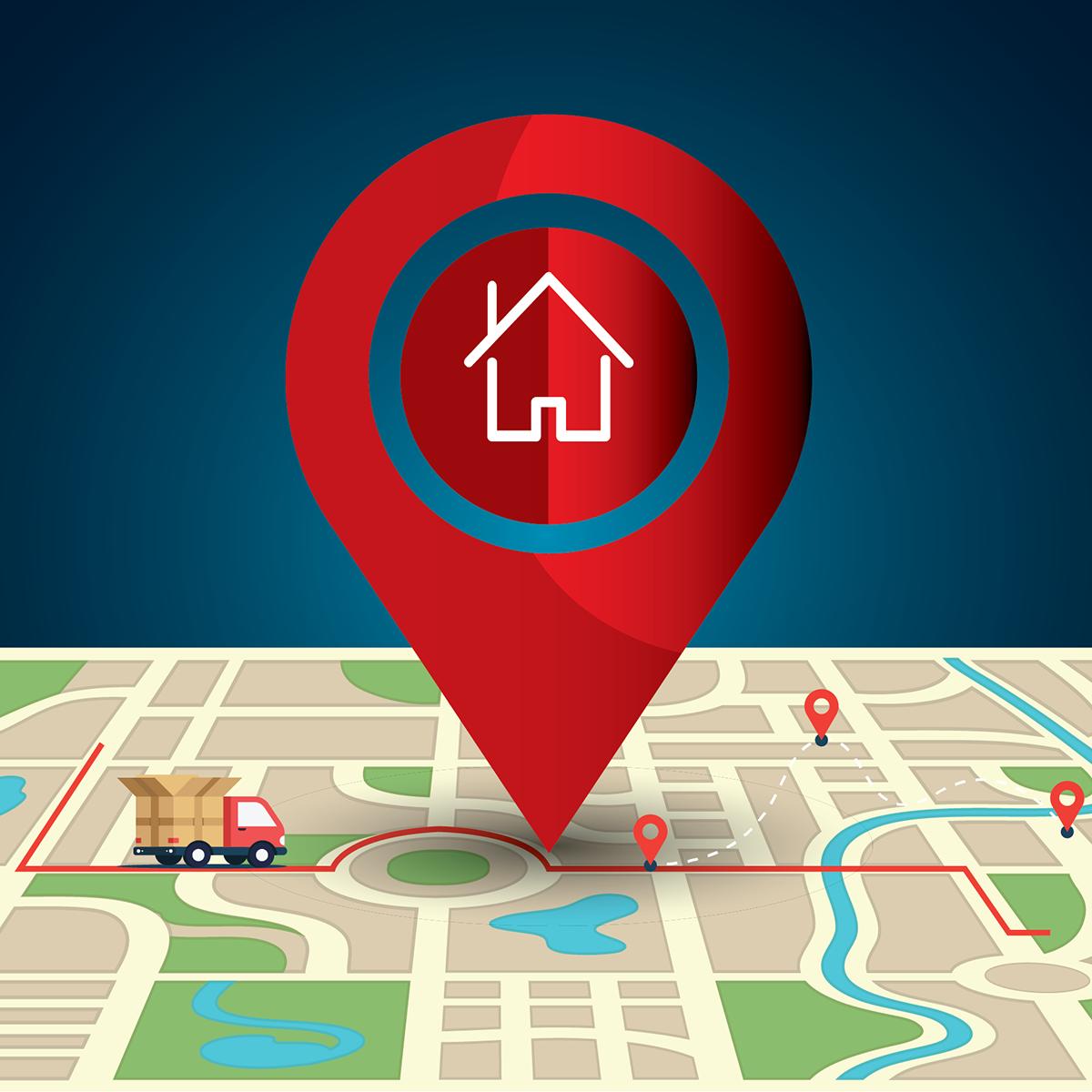 Shopify Google Maps app by Omega