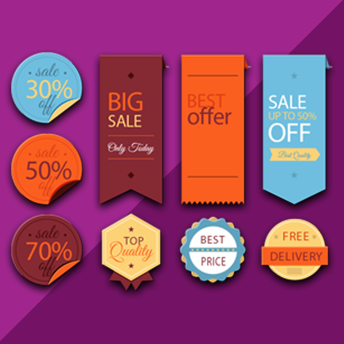 Shopify Product Labels app by Solvercircle