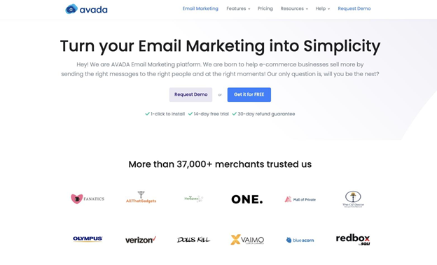 AVADA Email & SMS Marketing