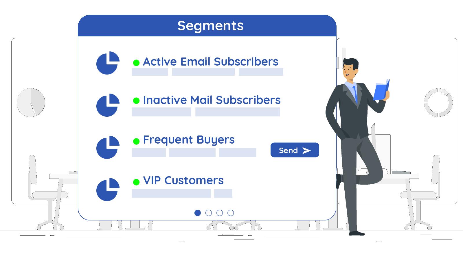 Pre-created most common segments