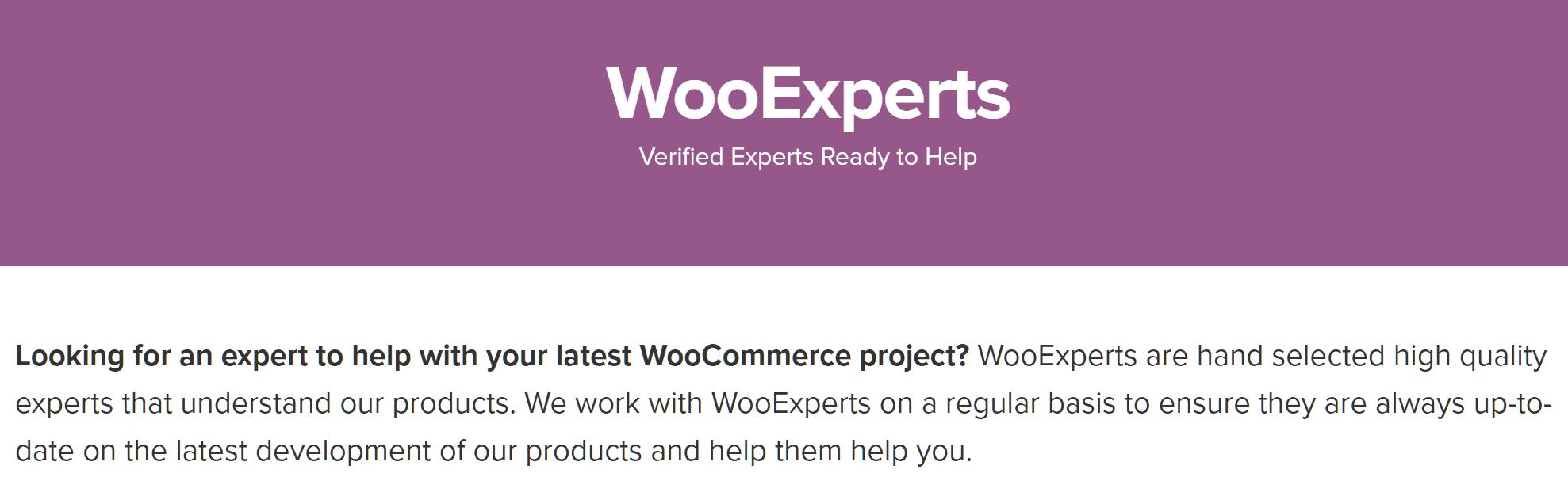 Verified WooCommerce expert