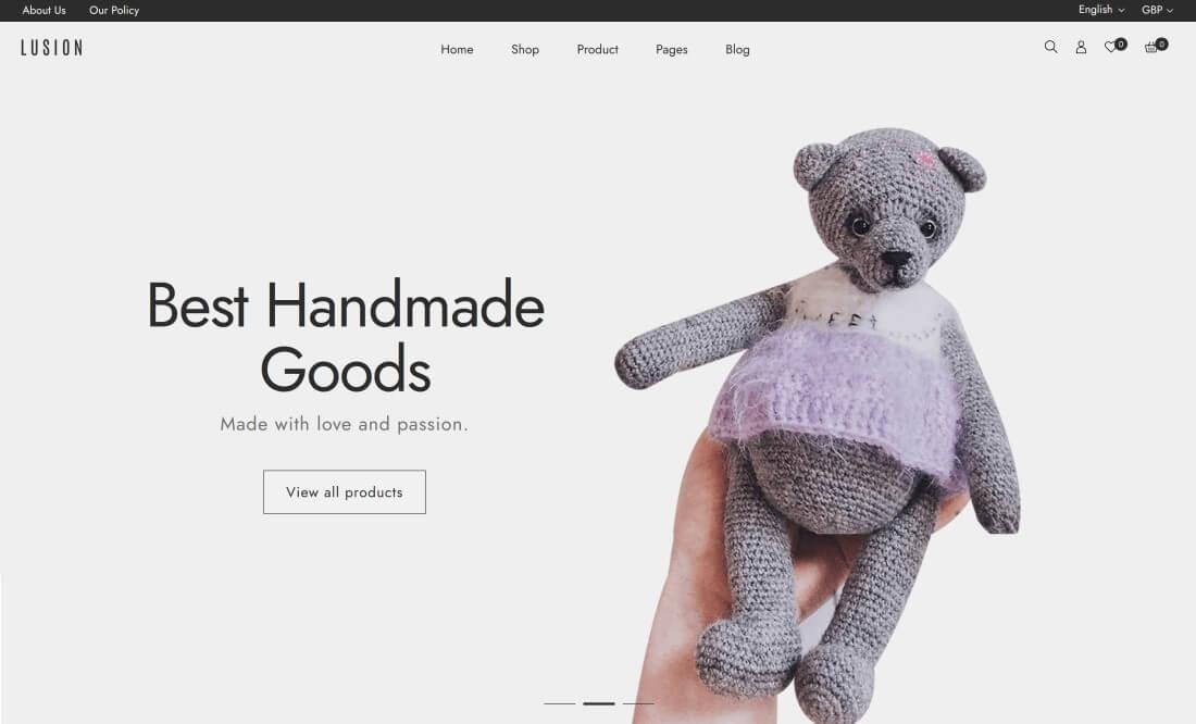 Shopify Handmade Themes