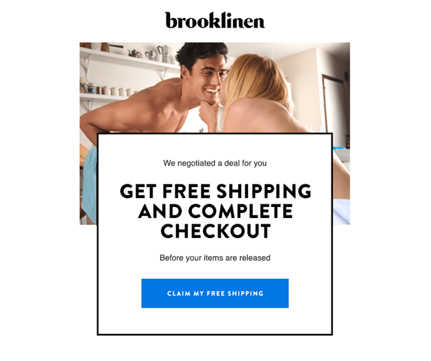 Brooklinen email example