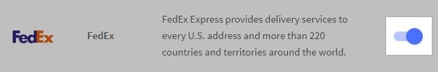 Enabling FedEx