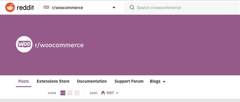 Reddit forum