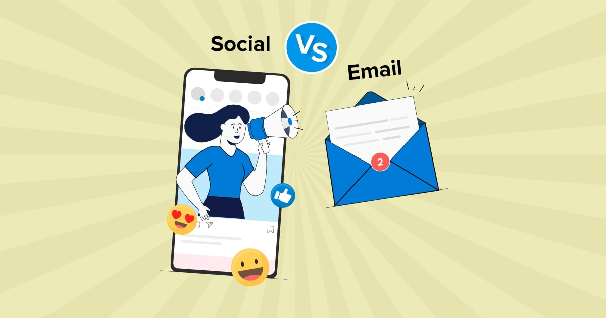 Is Social Media Replacing Email Marketing as many people say it does?
