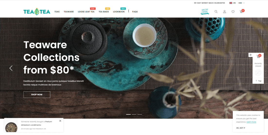 Shopify Drink Themes