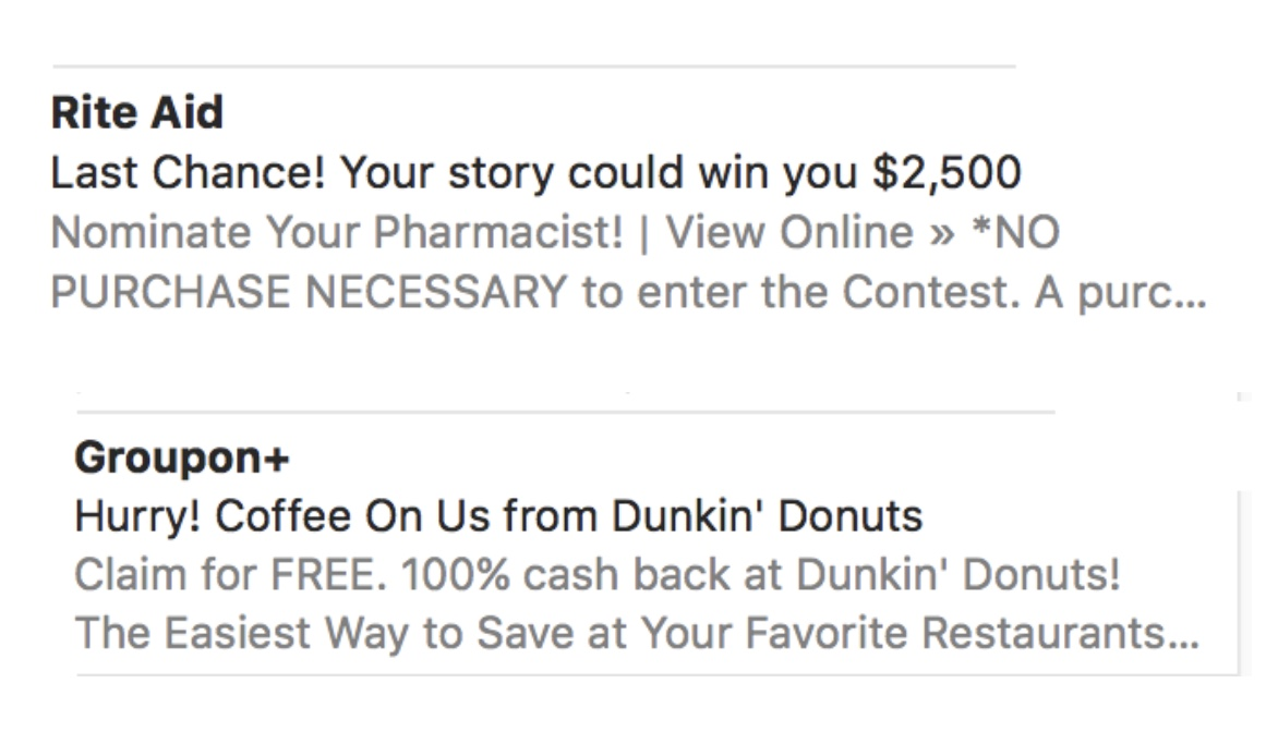 Introduce Your Promotion in the Subject Line