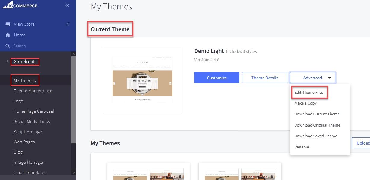 Opening theme files