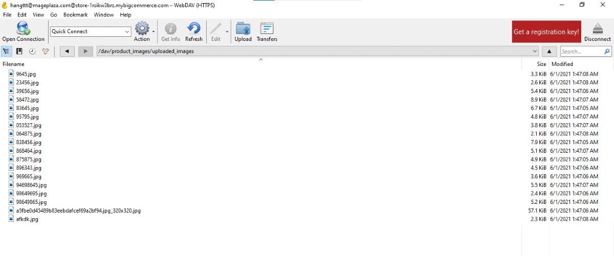 Image in Cyberduck folder