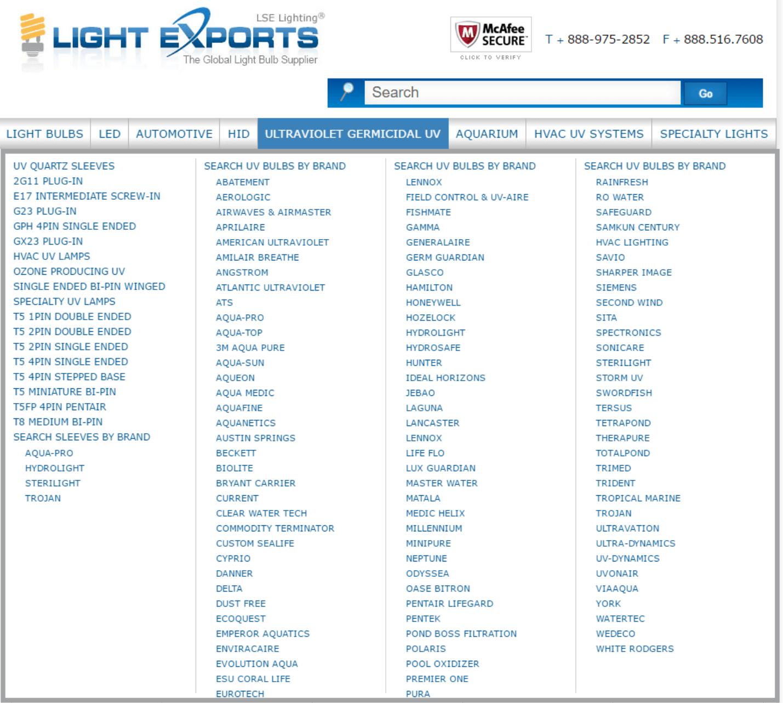 Light Exports
