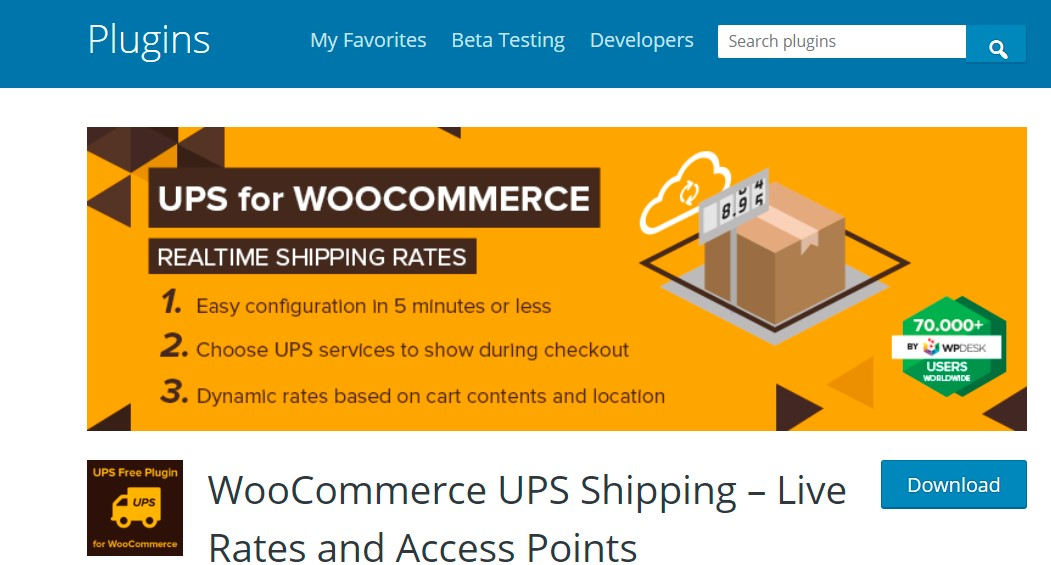 WooCommerce UPS Shipping by WP Desk